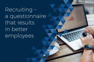 Recruiting better employees
