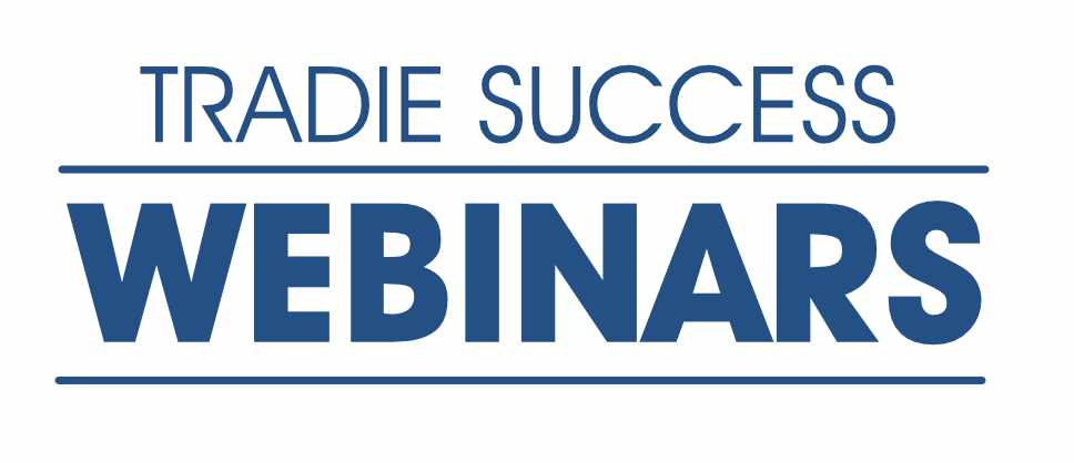 tradie success webinar